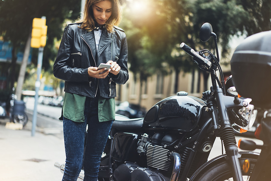 connectivity solution for motorcycles