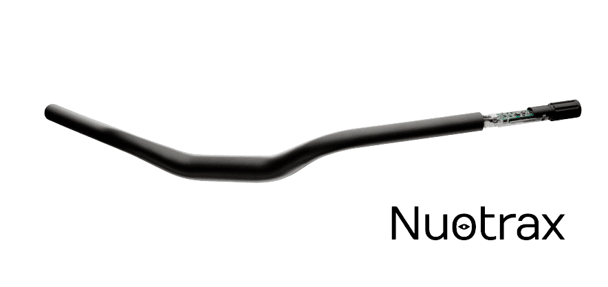 NUOTRAX connected bike handlebar
