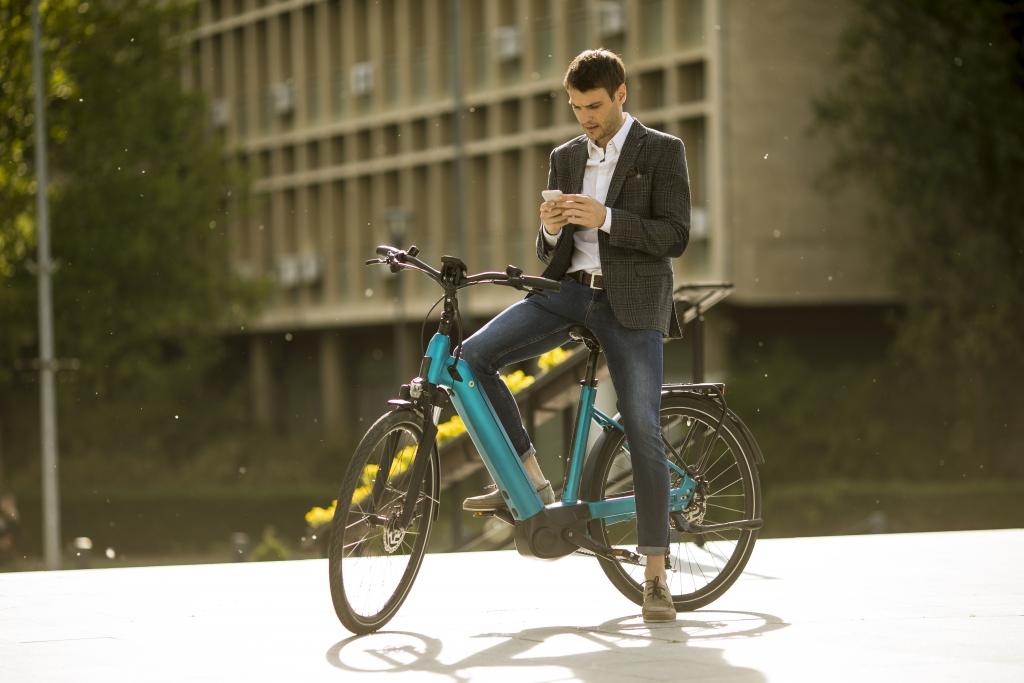 vélo connecté velco